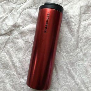 Starbucks Steel Travel Tumbler Red
